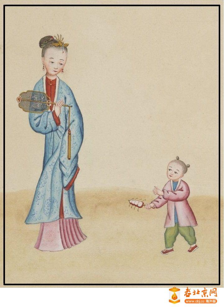 清国京城市景风俗图.Les Rues de Pékin.2册.19世纪_page89_image1a.jpg
