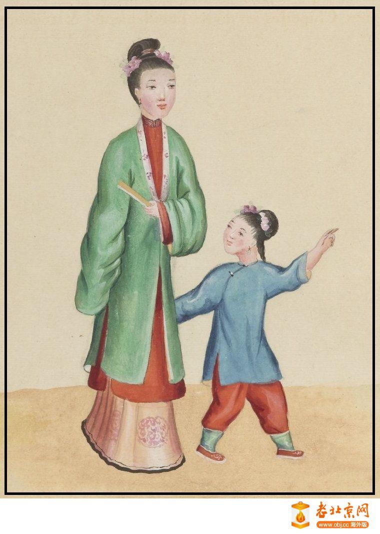 清国京城市景风俗图.Les Rues de Pékin.2册.19世纪_page91_image1s.jpg
