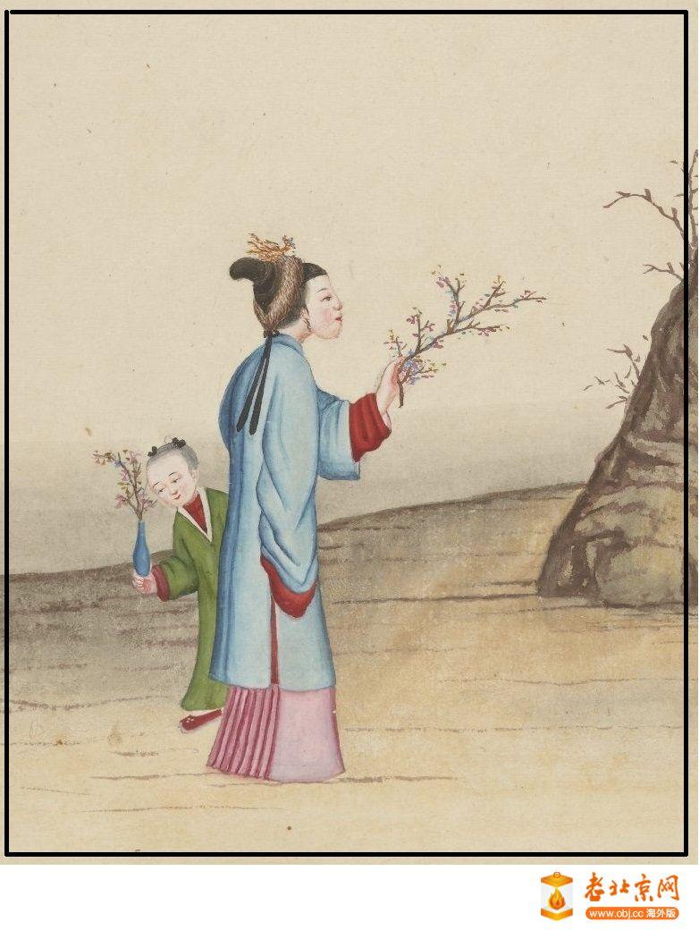 清国京城市景风俗图.Les Rues de Pékin.2册.19世纪_page95_image1a.jpg