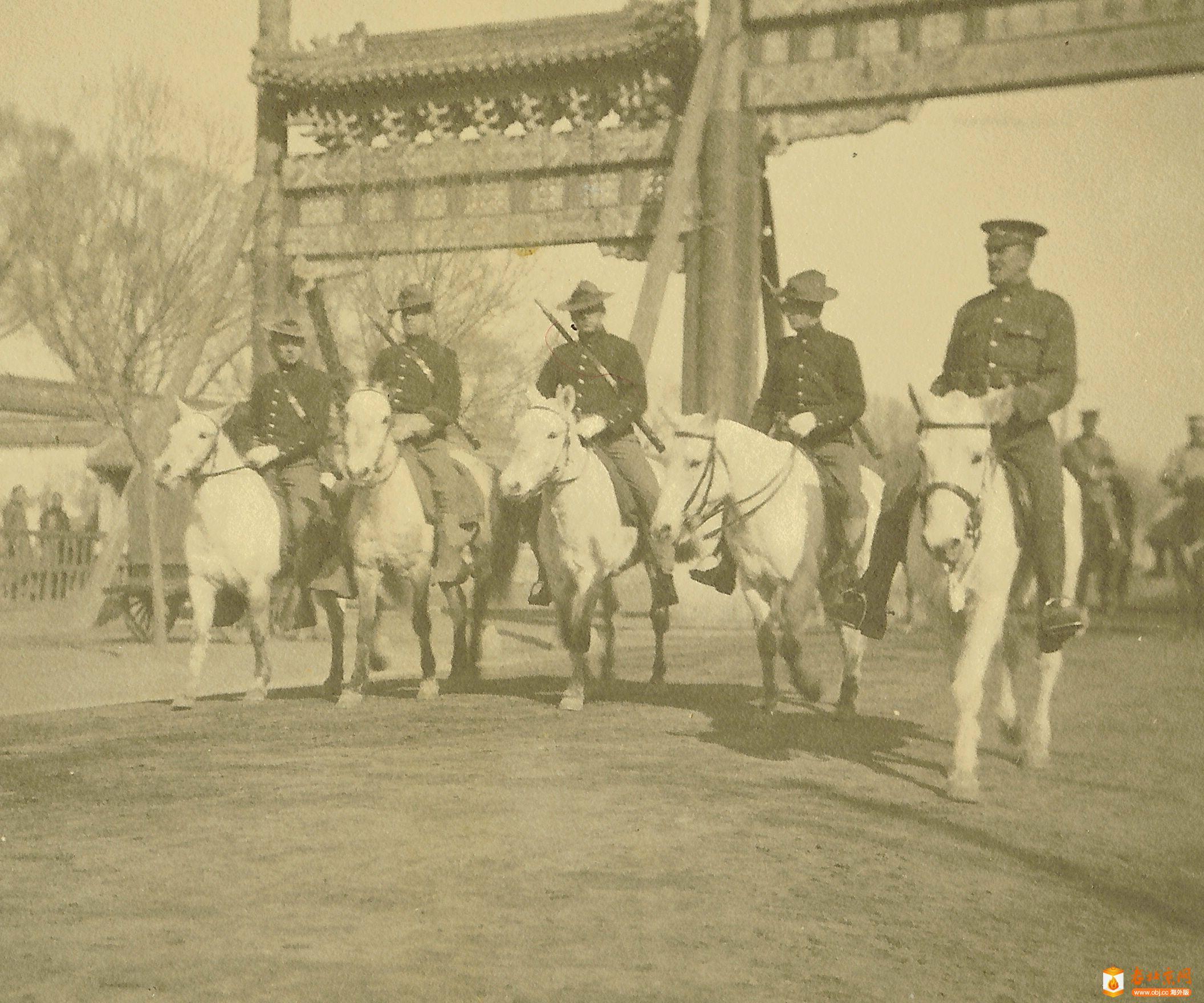 骑警支队的成员,北京 1912年3月