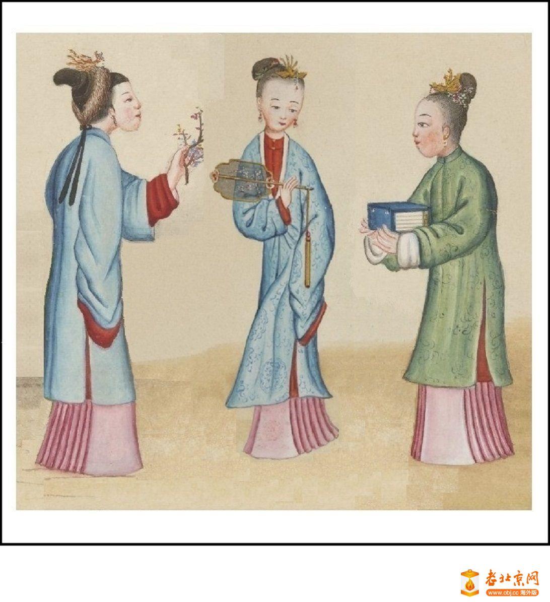 清国京城市景风俗图.Les Rues de Pékin.2册.19世纪_page89_image1aa.jpg
