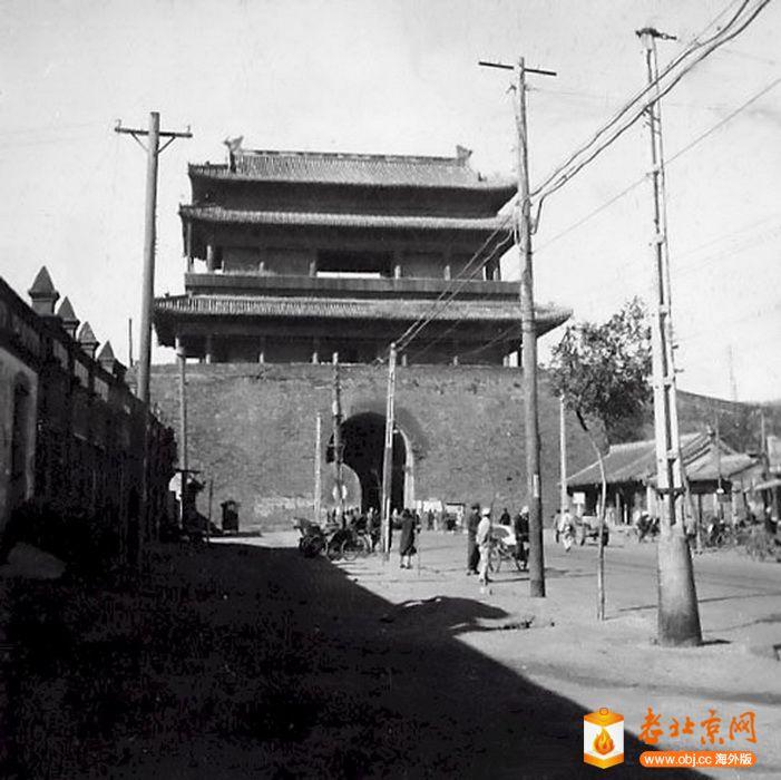 1950,西直門城樓東面(城裏).jpg