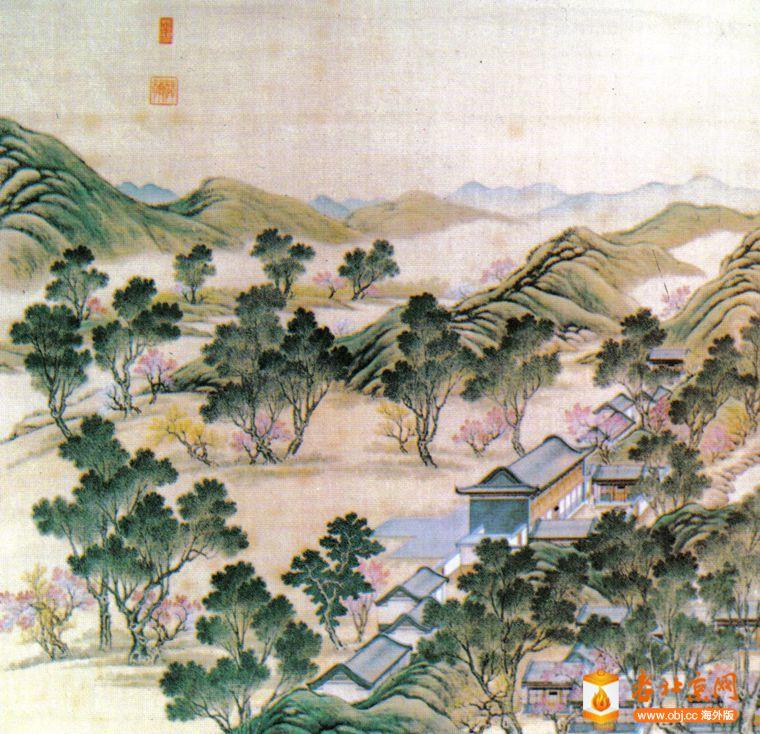 复件 12图 清代绘画圆明园山高水长楼,楼前是燃放烟花的场所.jpg
