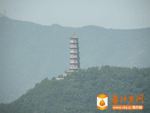 远眺玉峰塔