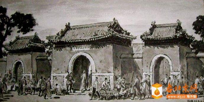 都土地庙的旧照遍寻不得,从网上取一张画作以留住记忆。.jpg