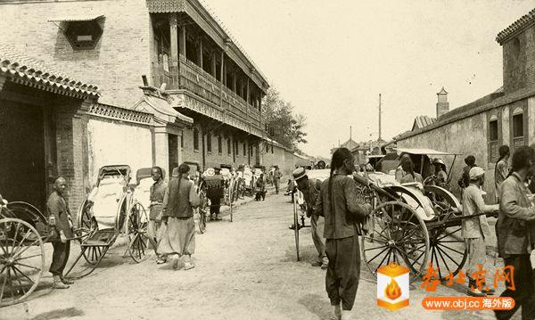 老北京饭庄的八大堂