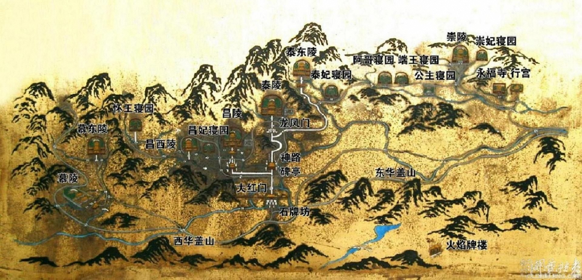 再游清西陵(4)——昌西陵.昌陵妃园寝(C)
