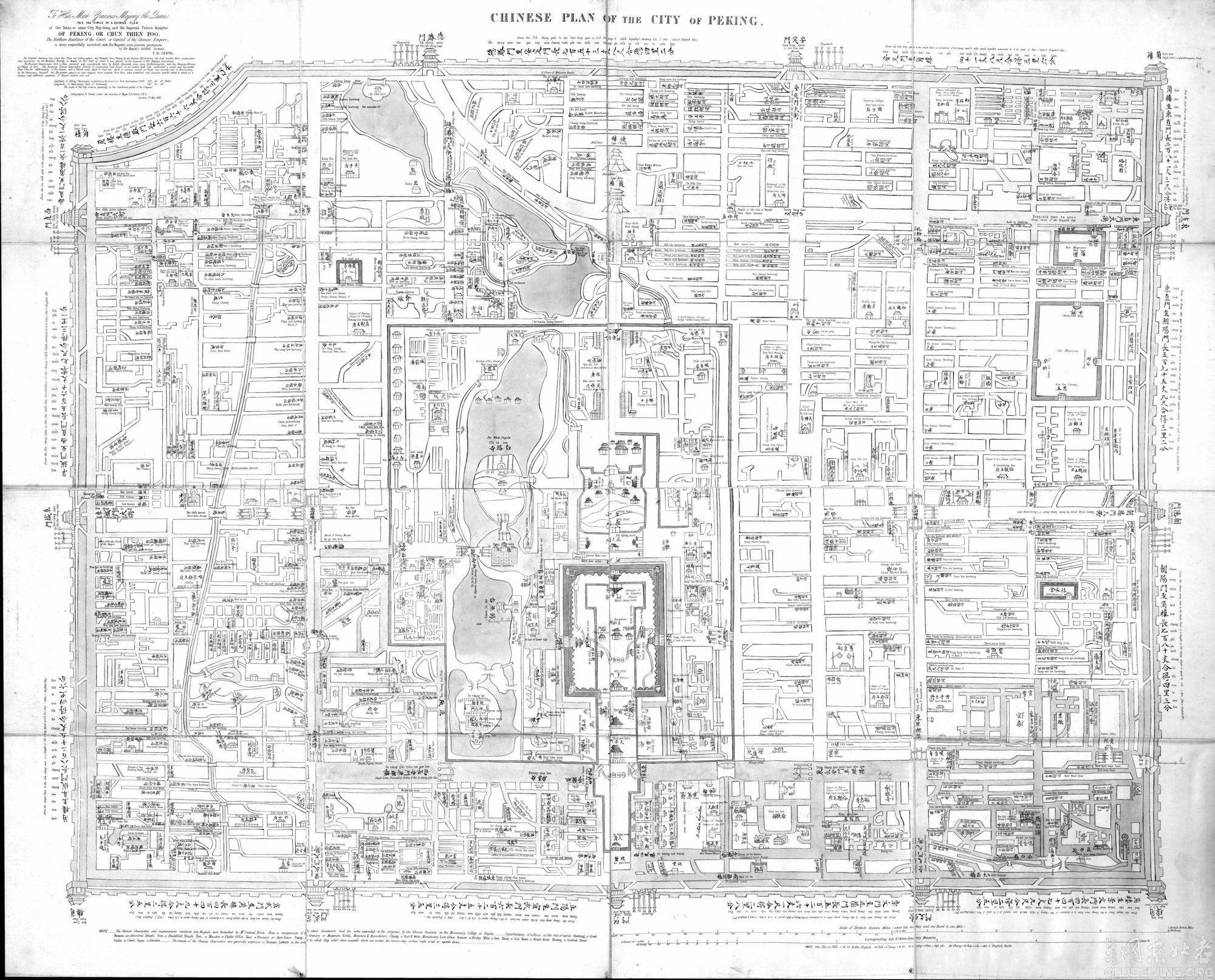 [分享]老北京地图-图说-老北京