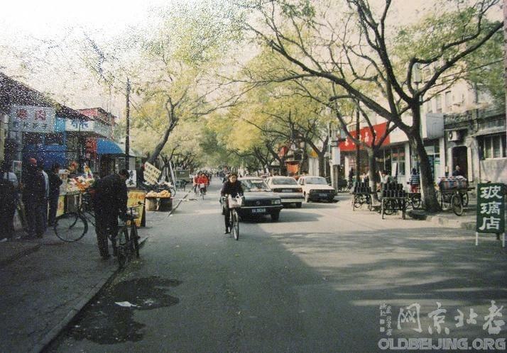 老东西花市大街照片(两张)