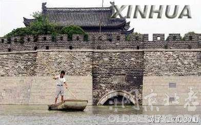有城墙的古城