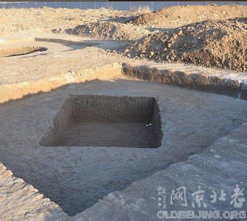 沙河镇辽门东发现古墓
