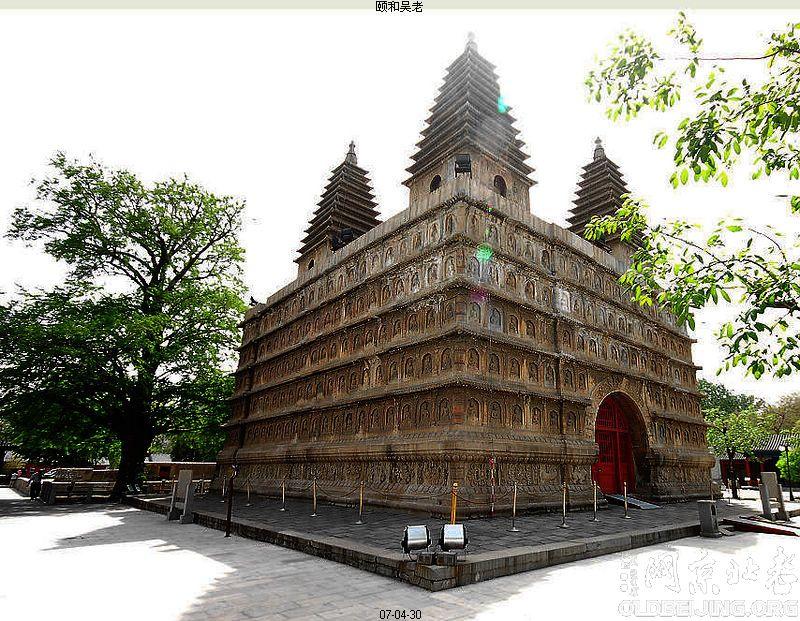 五塔寺金刚宝座塔-图文拍记-服务器里的北京-老北京