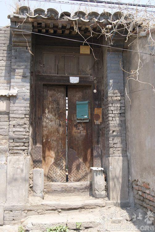 """北京的胡同废墟(图)---老李""""京城往事"""""""