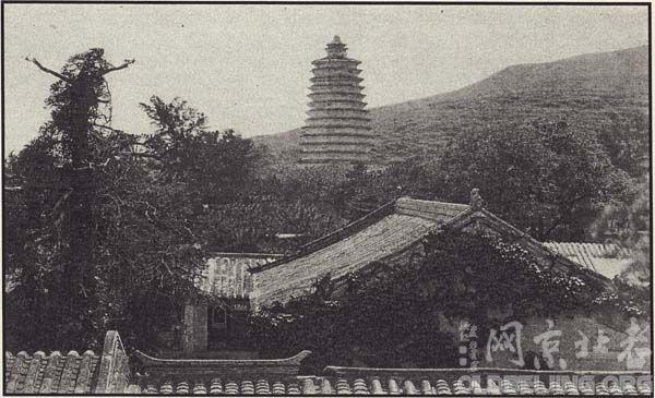 灵光寺佛牙舍利塔老照片-史地研究-服务器里的北京