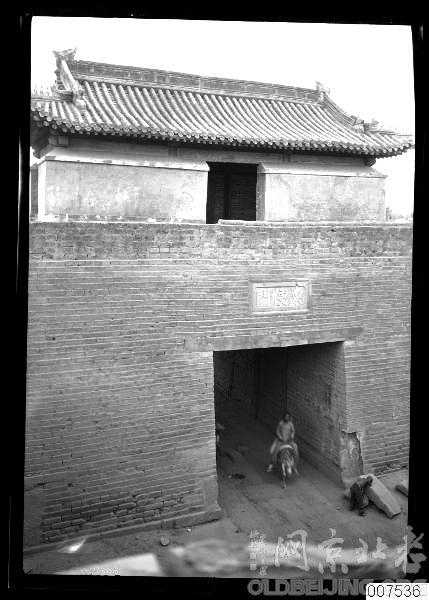 这是广安门城楼吗?