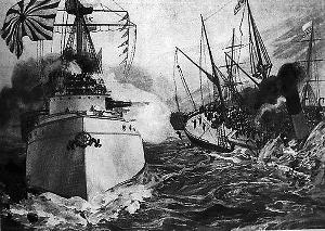 高升号沉没—甲午战争导火索事件始末