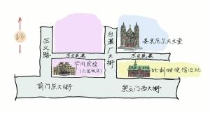 东交民巷三停三叹