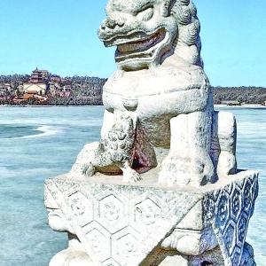 十七孔桥比卢沟桥上的石狮多?